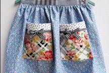 Costura - Delantales / Ideas de costura para hacer delantales