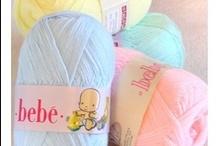 El Baúl - Lanas para bebé / Nuestras lanitas e hilos más dulces para los pequeñines de la casa.