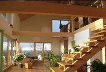 Escaleras Interior / Escalera interior de madera para espacios a medida de diferentes estilos y diseños #stairs #staircase #ladder #wood #escalera #escaleras