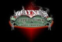 Wayne's Tattoo World and Body Piercing / Custom Tattoos and Cover-ups