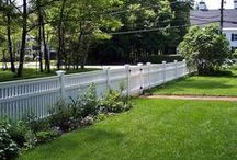 """Chestnut Hill fence / Chestnut hill a a decorative fence designed to bring beauty to your home. It is commonly used for enclosures, boundary definition as well as entrances and perimeter fencing. The top can be straight, scalloped, capped, or stepped, creating a very traditional colonial appearance. The height of the baluster can be alternated high and low creating a very formal or Victorian appearance. The pickets  themselves are durable 2"""" x 2"""" western red cedar that ensure many years of life."""