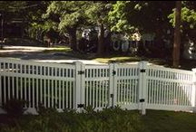Gates / If you're looking to replace your fence without painting, Bufftech or Plygem Vinyl is a great alternative. Our vinyl fence provides security and creates privacy minus the time-consuming maintenance. Not only do Vinyl fence and outdoor structures look amazing, they are proven, tough performers.