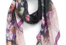 Scarves / Fashion is what you are offered four times a year, style is what you pick out of it. - Lauren Hutton