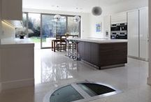 Open Plan Living Spaces / Showcase of open plan rooms that feature a Spiral Cellar