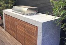 ELEMENTS: Outdoor Kitchens / BBQ / Fire Places