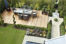 STYLE: Courtyard Gardens / Small spaces don't have to be left unattended, they can be transformed with the use of colour, light, plants and function. This board shows some inspiring images of small but beautiful outdoor spaces