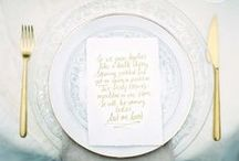 Place Settings / A Beautiful Place Setting is the Starting Point for Any Great Meal!