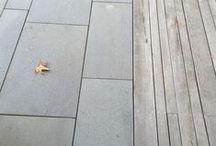 ELEMENTS: Floor Surfaces / Paving, Polished Concrete, Gravel, Pebbles