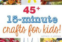 Crafts for the Kids / Get creative and have fun with these crafts for kids!