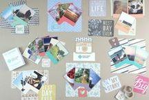 Color Inspiration - Vintage Polaroid Style Prints / Vintage Polaroid Style Snaps.  Order at square-snaps.com
