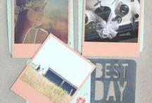 Peach Inspiration - Vinatge Polaroid Style Snaps / Vintage Polaroid Style Snaps. Peach inspiration. Order at square-snaps.com