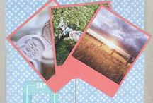 Raspberry Inspiration - Vintage Polaroid Snaps / Vintage Polaroid Style Snaps. Raspberry Inspiration. Order at square-snaps.com