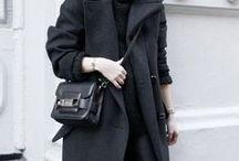 ALL BLACK LOOKS / All black Looks, Fashion, blogger, streetstyle
