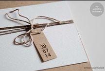 MY WORK. Wedding stationery / my wedding stationery project