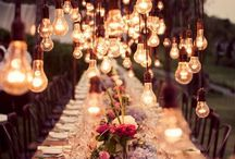 lights and some flowers