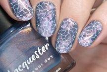 Nail Art: Stamping / nail art with stamping plates