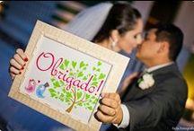 Casamento / Papelarias personalizadas desenvolvidas na Tuty - arte & mimos para festas de casamento!