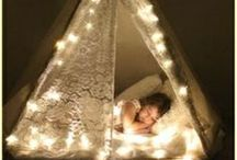 dream tents / hiding place for kids...