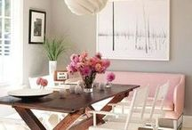 house, pink interiors