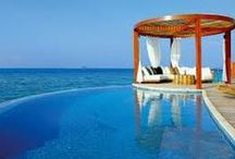 Posh Pools / Luxe living at it's finest with some great ideas for your own home pool