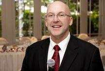 Wedding MC (Master of Ceremonies) / Photos relating to this popular professional Wedding MC service.