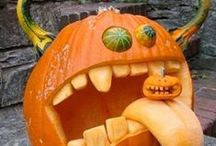 Halloween Pumpkin Carving / Ideas for the ultimate pumpkin carving this Halloween!