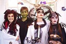 Halloween-Party / Das steckt hinter Halloween:  aus dem alten Brauch, am Abend vor Allerheiligen die bösen Geister zu vertreiben, wurde in den USA ein beliebter Grusel-Fasching. Bei uns kommt Halloween in Form von Motto-Partys immer mehr in Mode.