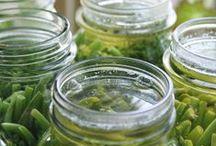 Genuss im Glas / Geschmack und Frische der Saison für später eingefangen