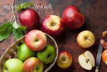 Äpfel / Zum Backen, Kochen, süß oder herzhaft, für Konfitüre oder einfach pur genießen - der Apfel steht bei uns ganz hoch im Kurs. Freut euch auf tolle Ideen und Rezepte