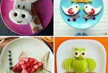 Snack Ideas for Kids / Food inspiration for littles - healthy eating with delicious ingredients and some treats along the way!