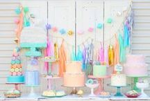 Kids Birthday Parties / Inspiring Ideas for Kid's Parties - lovely styles and themes