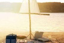Wakacje / urlop - ręczniki plażowe, koce piknikowe / Wakacje, plaża, piknik :)