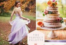 "my Dusty pink & White wedding 10/9-""Autumn Sunlight: Peach and Lavender"" / flowerbar"