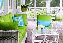 Patio Cushions - Bring In The Colour / Patio Cushion Ideas