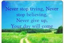 Inspiration / Quotes, motivation