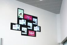 Bon Accord / The Bon Accord Centre required a modern platform to communicate messages effectively to shoppers. Digital signage was chosen, and ONELAN specifically, as it is easy to update and flexible enough to meet the communication needs of the business.