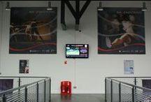 Ravenscraig Sports Centre /  Ravenscraig wanted to develop a communication system to keep customers updated with activities and sports centre facilities. They wanted to be able to promote forthcoming events, and also entertain customers while they are at the facility