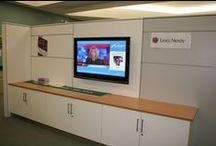 Nothumbria University / ONELAN's digital signage at the University of Northumbria