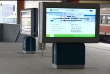 Polish Rail / It wanted to create a platform that would allow advertisers to reach their audience in an appealing way. Digital signage was chosen by Polish Rail as it was the best solution for displaying adverts. It also enabled the advertising to be managed from one location and allow the unlimited modification of content.