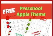 Apples Preschool Unit
