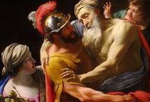 AENEAS IN FINE ARTS / Figure of Virgil's Aeneas, most important moments of his story, circumstances of Troian War  - in different fine arts (first of all in paintig) and in different ages.  Aeneas-ábrázolások, a történet fontosabb mozzanatainak megörökítése különféle művészeti ágakban és korokban. A trójai háború kísérőkörülményei a képzőművészetben (különösen a festészetben).