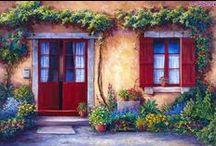 door - porta - porte - drzwi