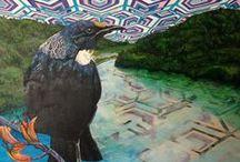 Jamie Larnach art / Jamie Larnach is an artist from New Zealand