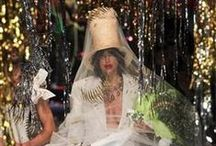 Vivienne Westwood Gold Label AW 2015 2016 / Hats created by Prudence Millinery for Vivienne Westwood Gold Label AW 2015 2016