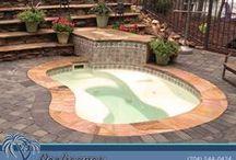 Fiberglass Spas / Fiberglass Spas from Poolscapes of Charlotte