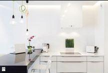 Białe kuchnie - inspiracje / Kuchnie białe - klasyczne, nowoczesne, prowansalskie i w stylu skandynawskim:)