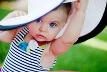Stylish little baby
