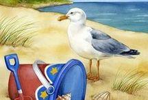 beach art   ♔ ☀️