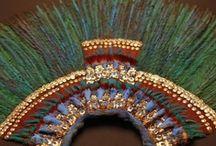 Arte precolombino de México / De la prehistoria mexicana casi no quedan huellas de una actividad que pudiera llamarse ´´artística´´, si bien hay evidencias de que los pueblos nómadas, simples recolectores, o cazadores del mamut y de otras especies prehistóricas, vivían hace más de diez mil años en el antiguo Mexico. / by Mari Carmen Bermudez Dominguez