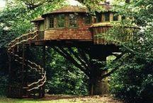 Flying tree houses